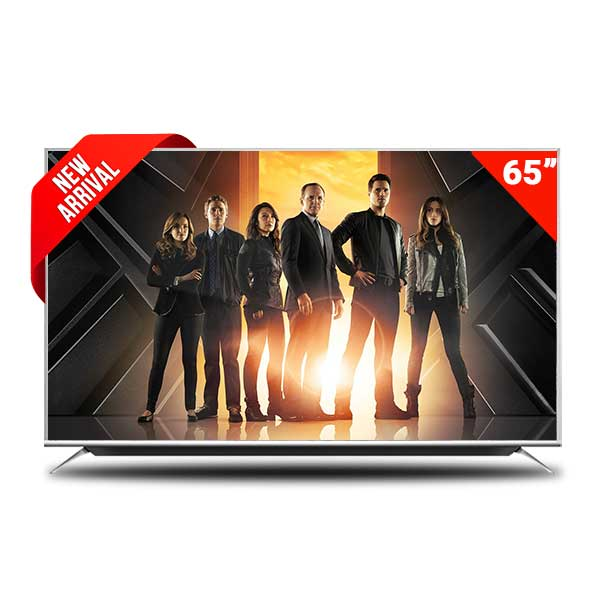 Pentanik 65 inch Smart Android TV With Soundbar